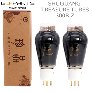 Image 1 - SHUGUANG Treasure 300B Z 300B Electron Vacuum Tube Lamp Vintage Hifi Audio Tube AMP Upgrade DIY Factory Test Matched Pair