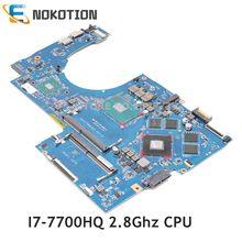NOKOTION Für HP Pavilion 17-AB 17-W serie Laptop motherboard 915550-001 915550-601 DAG37DMBAD0 GTX 1050 ti 4GB i7-7700HQ CPU
