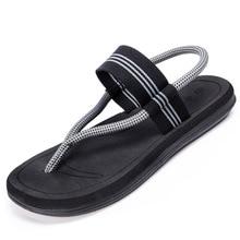 К 2020 году новых летом пляж обувь мужчины сандалии воздухопроницаемый клип Рома досуг Мыс двойного назначения сандалии мужчины мягкий 36-45
