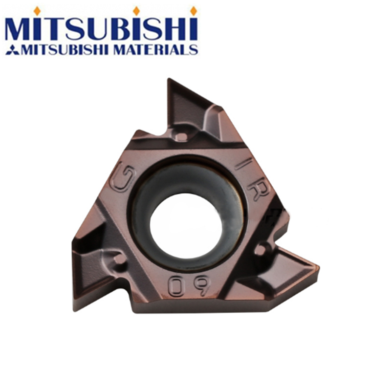 Mitsubishi MMT16IRG55-S VP15TF MMT16IRG60-S MMT 16IR G55 G60 Carbide Inserts Lathe Turning Tool Threading Tools SNR SNR0016Q16