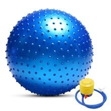 55CM / 65CM / 75CM Anti burst Yoga Ball Thickened Stability Balance Ball Pilates Physical Fitness Exercise Ball Gift Air Pump