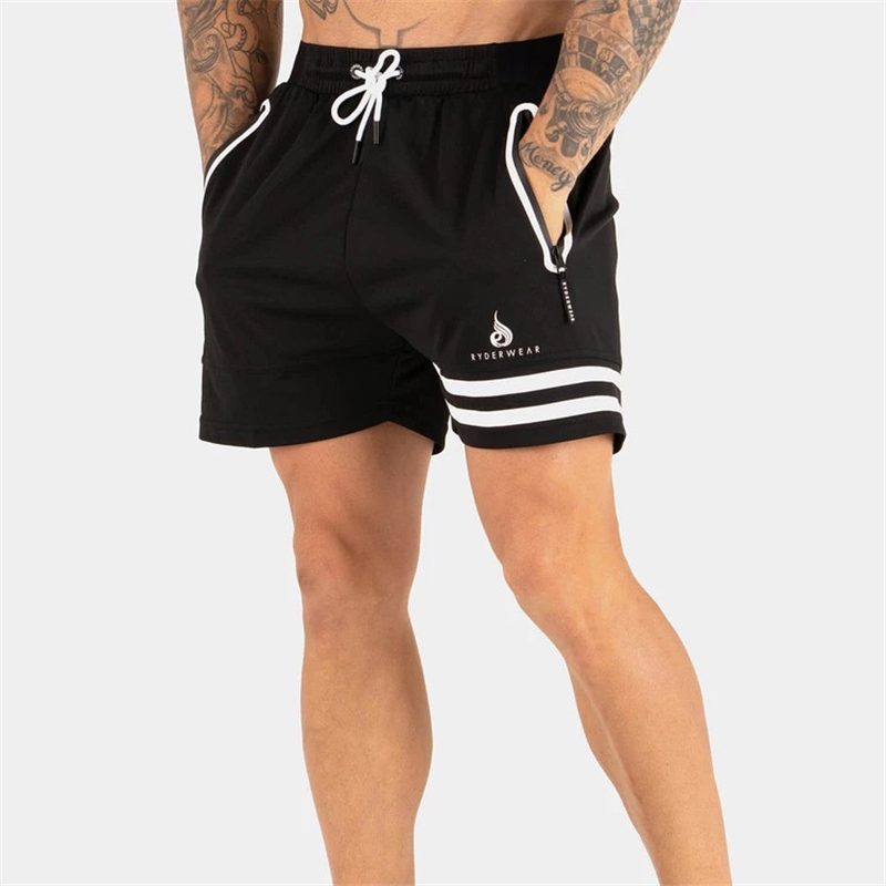 Fashion New Summer Mens Fitness Bodybuilding Breathable Quick Drying Sports Short Gyms Men Casual Joggers Brand Shorts