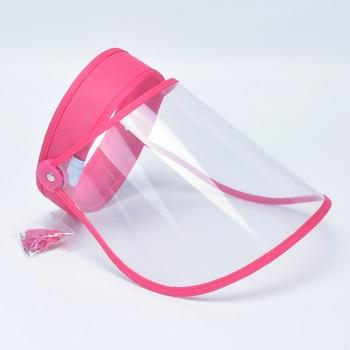 Προστατευτική Ανακλινόμενη Διάφανεια Προσώπου από Ιούς, Αλλεργίες και Γρίπη Ανακλινόμενη Διαφανής Μάσκα Προσώπου Προϊόντα Περιποίησης Προϊόντα Υγείας MSOW