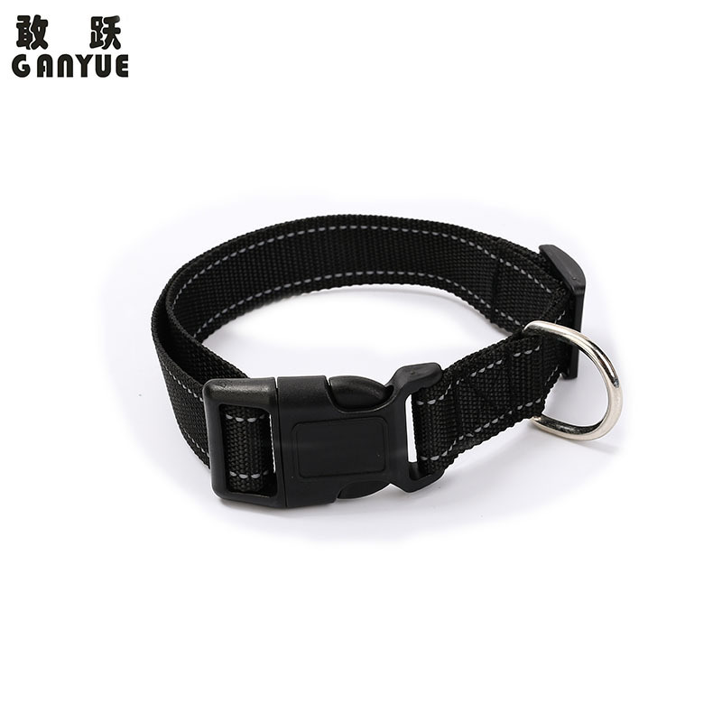 Pet Supplies Reflective Dog Neck Ring Pet Collar Traction Rope Adjustable Customizable
