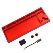 CNC Anodized Aluminum Case Shell For Filco CM Cooler Master 87 Tenkeyless Mechanical Keyboard Including Detachable USB Module