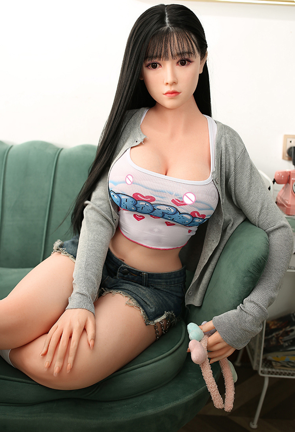 H02c40d510577491395a4ebfb225703a70 Sex-Doll Love Dolls For Men Masturbation Sexy-Doll Oral Ass Adult Sex Toys 158Cm Realistic Vagina Breast Anal TPE Silicone