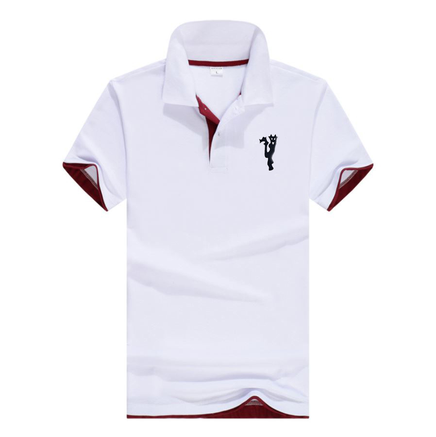 2019 Brand Clothing Men   Polo   Shirt Men Business Casual Solid Male   Polo   Shirt Short Sleeve High Quality Men Clothing