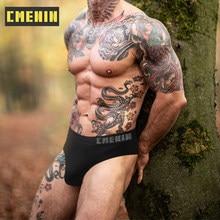CMENIN-bragas sin costuras para hombre, ropa interior Sexy Gay, Tanga, suspensorio de tiro bajo para hombre, tangas, Top CM103