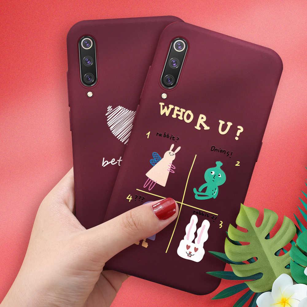 New Phone Case Pintado Para Xiaomi Redmi Nota 5 6 7 Pro Caso Tampa Traseira Para Xiaomi Redmi 6A 7 doce Suave TPU Silicone Capa Coque