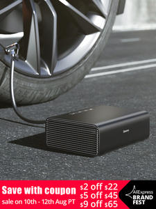 Baseus Auto-Tyre-Inflator Car-Air-Compressor-Tire Inflatable-Pump Intelligent Portable