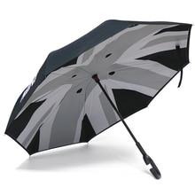 Voiture impermeável parapulie guarda-sol coupe-vent pliant ombre pour mini cooper um jcw s d r53 r55 r56 f54 f60 countryman acesso