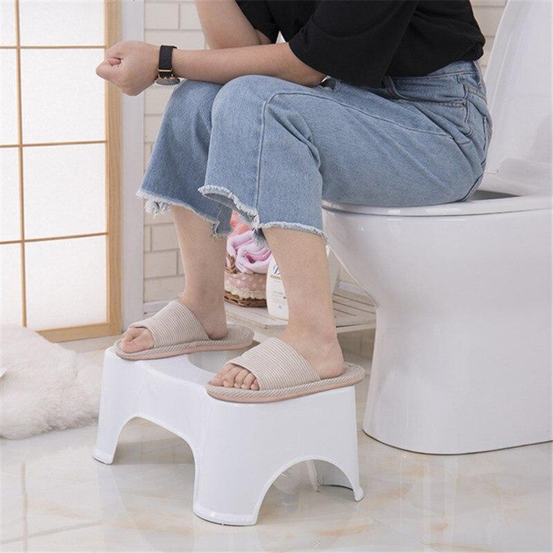 Hot  Non-slip Aid Stool Plastic Toilet Stool Bathroom Anti Constipation Baby Anti Constipation Bathroom Plastic Squatting Stool