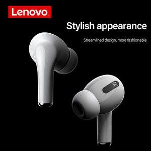 Image 4 - Lenovo LP1S אלחוטי אוזניות TWS אוזניות Bluetooth 5.0 עמיד למים ספורט אוזניות עם מיקרופון עבור אנדרואיד IOS Smartphone