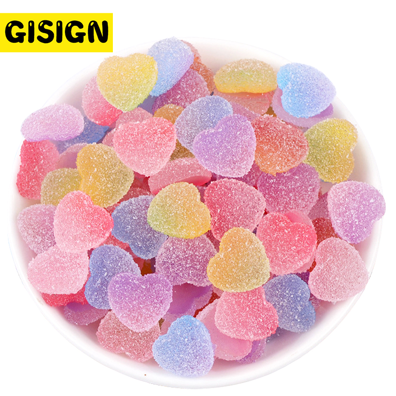 Magic Love Slime Charms For Clay Decor Polymer Filler Addition Slime Accessories Toys Lizun Kit For Kids Sprinkles Supplies