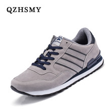 High Quality Men Shoes Leather Sneakers Men's New Breathable Lace-Up Sneakers Indoor Training Walking Gym Shoes Tenis Flat Shoes