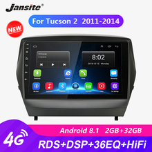 Jansite 9 Car Radio player For Hyundai Tucson 2 2011-2014 autoradio Android 2G+32G Touch screen Mirror-link players with frame