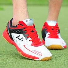Мужская обувь для бадминтона, высокое качество, EVA, не скользкие, для тренировок, профессиональные кроссовки, женская спортивная обувь для бадминтона, плюс