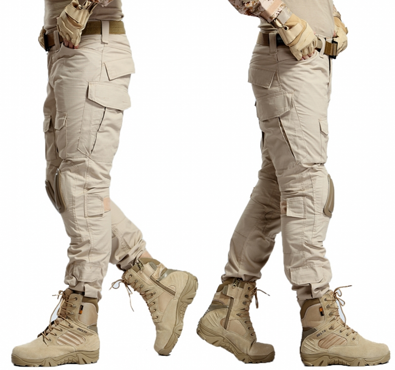 Gen2 Tactical Pants With Knee Pads(Khaki)2