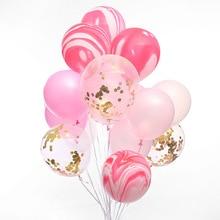 """20 штук для свадьбы, помолвки воздушный шар украшения агат твердый воздушных шаров из латекса, День рождения украшения для взрослых воздушный шар """"Конфетти"""""""