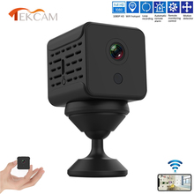 Micro Camera Home Security WiFi IP Night Vision HD 1080P Wireless Remote Monitor Cam DVR mini Camcorders with 360° Rotary Base camsoy c6 mini camera for baby home security wifi ip control by mobile phone with night vision hd 720p dvr cam new gadgets 2017