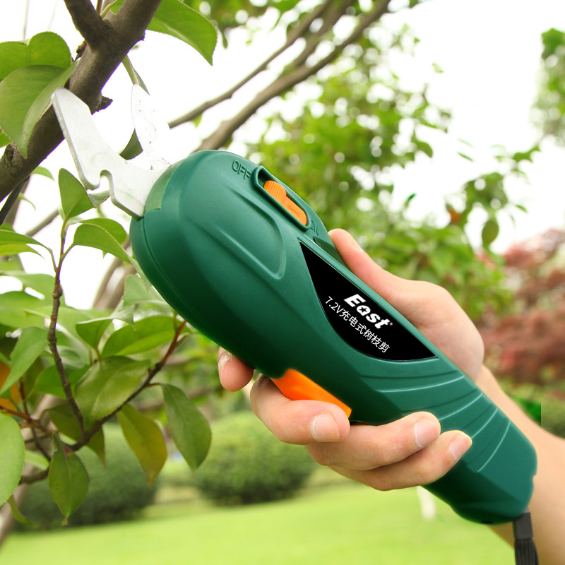 Electric Pruning Shears Rechargeable Gardening Secateurs  Lithium-ion  Pruning Scissors Branch Pruner Trimmer Tools