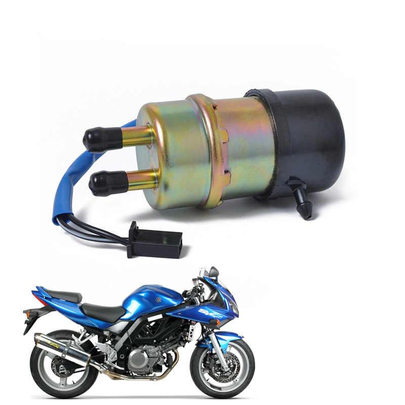 12 В Электрический Топливный бензиновый насос низкого давления для Yamaha Kawasaki KTM Suzuki Honda ATV 10 мм аксессуары для мотоциклов на входе и выходе