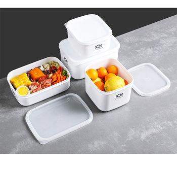 Pojemniki kuchenne pojemniki do przechowywania żywności pojemnik Bento pojemniki na Lunch pojemniki do przechowywania w mikrofalówce i zmywarce bezpieczeństwo żywności tanie i dobre opinie CN (pochodzenie) Nowoczesne