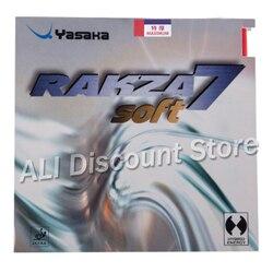 Yasaka Originele RAKZA 7 ZACHTE RK7 Puistjes In Tafeltennis Rubber RAKZA7 ZACHTE Pips-In Ping Pong Sponge Tenis de Mesa