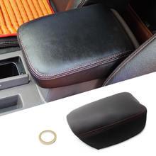 Интерьер автомобиля центральный подлокотник консоль чехол из