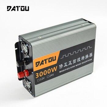 цена на 3000W Modified Sine Wave RV Power Inverter 12v to 220v Transformer Voltage Converter Inverter For Car Accessories Supplies