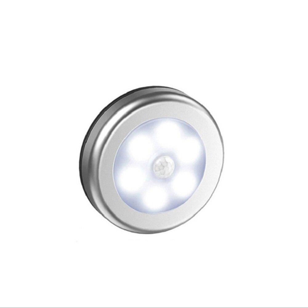 Pasillo escalera luz nocturna Sensor de movimiento luz 6 LED luz cocina armario dormitorio armario luz magnética inalámbrica Macarons nórdico luces colgantes dormitorio moderno mesita de noche comedor lámpara colgante Bar/café individual accesorios de iluminación creativa