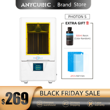 Anycubic Photon S LCD 3D Kit Stampante Rapida Fetta 405nm Matrix Luce UV Dual Z asse SLA 3d stampante Photon S impresora 3d