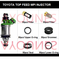 50sets fuel injector repair kit fuel injector set fit for Toyota Celia Carmy RAV4 for 23250-74140  free shipping (AY-RB101)