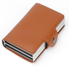 New Wallet/ID Automatic Card Holder RFID Unisex Security Credit Pass Travel Air tickets Multi-Function Microfiber Men Package