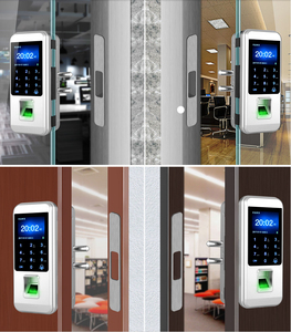 Image 5 - חדש הגעה טביעות אצבע ביומטרי מנעול דלת עם לוח מקשים XM 300 Keyless מנעול דלת בית משרד נגד גניבה