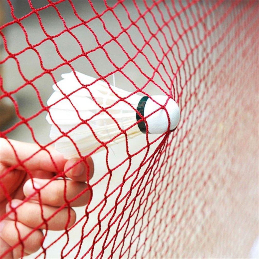 1 Piece Portable Outdoor Sports Tool Badminton Tennis Volleyball Net For Beach Garden Indoor Outdoor Sport Games Red Tool