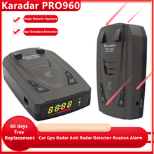Karadar Pro960 Antiradar 2 in 1 Auto GPS Radar Detektor Unterschrift Modus K CT X Laser Bands Radar Detektoren für russland und G-820str
