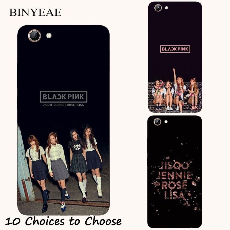 BLACKPINK silicone Case For Vivo Y21 Y25 Y53 Y53i Y65 Y66 Y67 Y69 Y71 Y71i Y81 Y81i Y83 V5 V5s Lite V7 Plus Phone Printed Cover