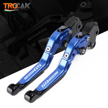 For BMW F850GS F750GS F 850 GS 2018 2019 Motorcycle Accessories CNC Adjustable Folding Extendable Handle Bar Brake Clutch Levers