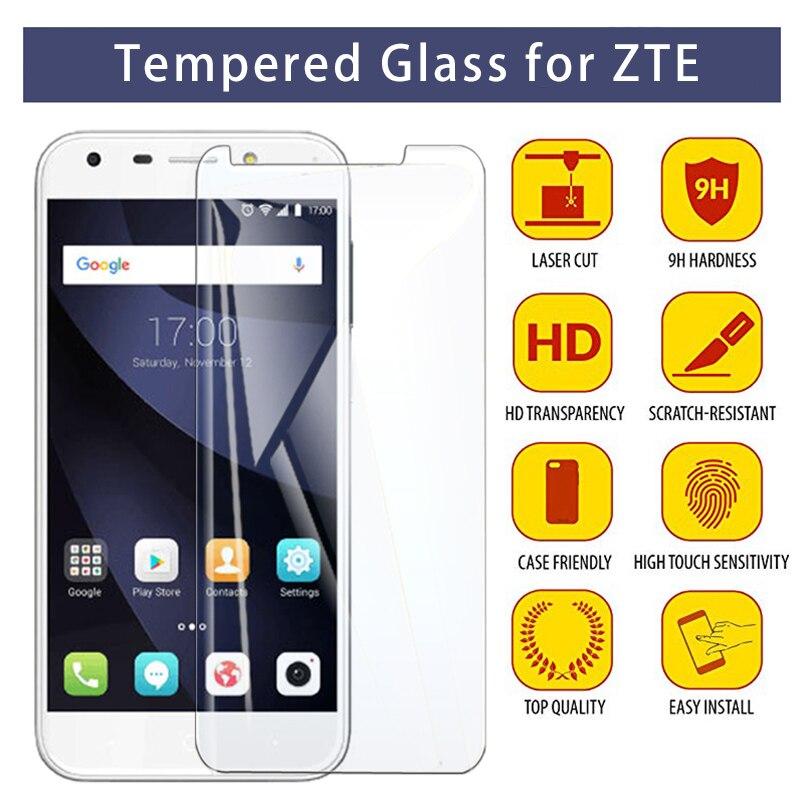 Screen Protector For Blade L5 Plus L3 L2 L110 9H HD Tempered Glass For ZTE Blade A6 A610 A520 A512 A510 A452 A3 Protective Glass