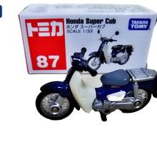 original takara tomy Tomica NO. 87 Super Cub Scale 1:64 motorcycle Diecast metal Car