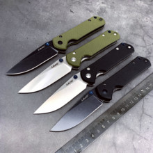 ĐẤT năm 910 Bỏ túi Gấp 12C27 lưỡi dao thép không gỉ bóng bay Cắm Trại Di động sống còn Câu Cá Công cụ EDC