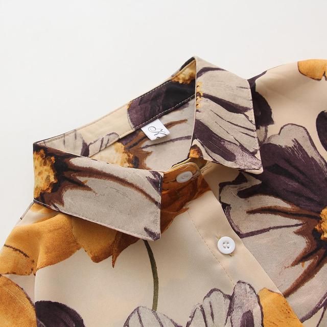 Hawaii floral shirts Long Sleeve  4