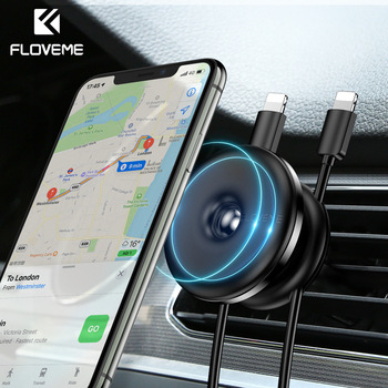 FLOVEME Magnetic Car Phone Holder for Mobile Phone in Car Air Vent Magnet Phone Mount Holder GPS Stand Mobile Phone Accessories