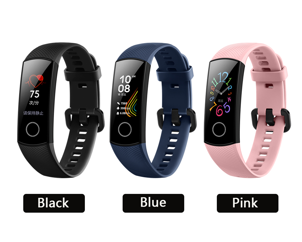 H02c929583b7a49ee8214eda037627623g global version Honor band 5 smart band AMOLED heart rate fitness sleep swimming sport blood oxygen tracker