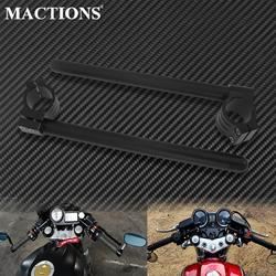 Motorcycle Handlebar Racing Adjustable 31/32/33/35/36/37/39/41/45/48/50/51mm Clip On Ons Fork Handlebars Handle Bar Cafe Racer