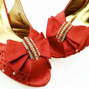 Image 5 - ワインカラーシミュレーション革アフリカ靴やバッグセットにパーティーの女性の靴マッチングバッグセットイタリア靴とマッチングバッグ
