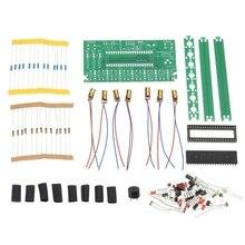 Diy один чип микрокомпьютер арфа Комплект Электронный пианино музыкальная шкатулка