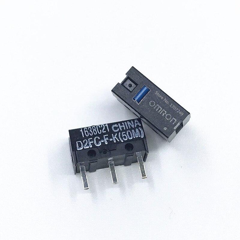 5pcs ORIGINAL /& Brand New OMRON D2FC-F-K D2FC-F-K Mouse Micro Switch 50m