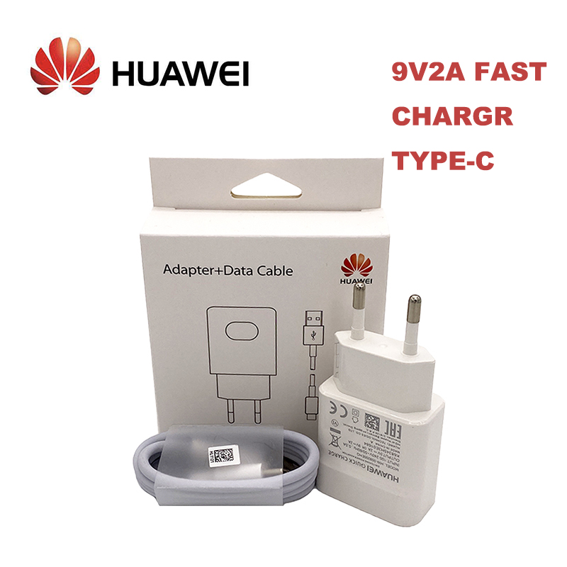 Original Huawei QC2.0 Fast Charger 9V 2A EU plug Usb 3.1 Type C cable quick charge adapter for P30 lite P9 P10 P20 Nova 3 4 4e|Mobile Phone Chargers|   - AliExpress
